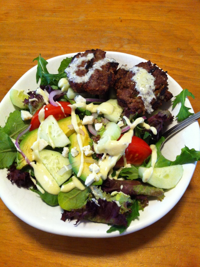mini.beef.burger.salad.3